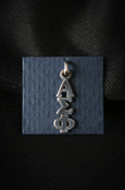 Alpha Sigma Phi Sterling Silver Lavalier
