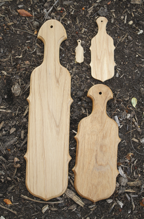 Wood Paddles - Cello