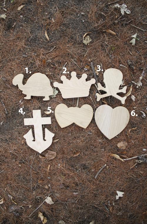 Wood Symbol Plaque Large Symbols With Adhesive Back The Cmu