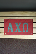 "Alpha Chi Omega Approx. 18""X10"" Banner"