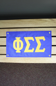 "Phi Sigma Sigma Approx. 18""X10"" Banner"