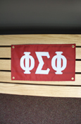 "Phi Sigma Phi Approx. 18""X10"" Banner"