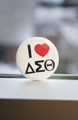 Delta Sigma Theta - 'I Heart' Button