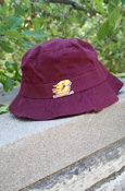 Maroon Flying C Infant Bucket Hat