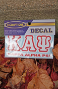 Kappa Alpha Psi - Stacked Decal