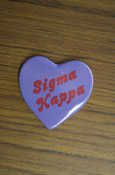 Sigma Kappa - Heart Button