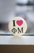 Phi Mu - 'I Heart' Button