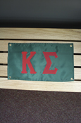 "Kappa Sigma Approx. 18""X10"" Banner"