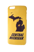 Michigan Flying C Central Michigan Gold iPhone 6 Plus 3D Case
