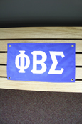 "Phi Beta Sigma Approx. 18""X10"" Banner"