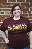 Maroon Central Michigan Flying C T-Shirt
