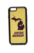 Michigan Flying C Central Michigan Gold Iphone 6 Duo Case