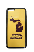 Michigan Flying C Central Michigan Gold Iphone 6 Plus Duo Case
