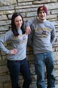 Central Michigan Flying C Gray Long Sleeve
