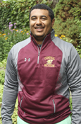 Central Flying C Michigan Under Armour Gray And Maroon  1/4 Zip With Zippered Pockets