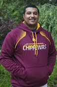Under Armour Central Michigan Slash Chippewas Maroon Hoodie