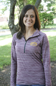 Central Michigan Heather Maroon Under Armour Heatgear Ladies 1/4 Zip