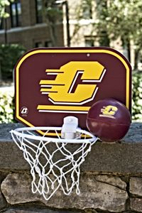 Flying C Maroon And Gold Soft Basketball With Hoop
