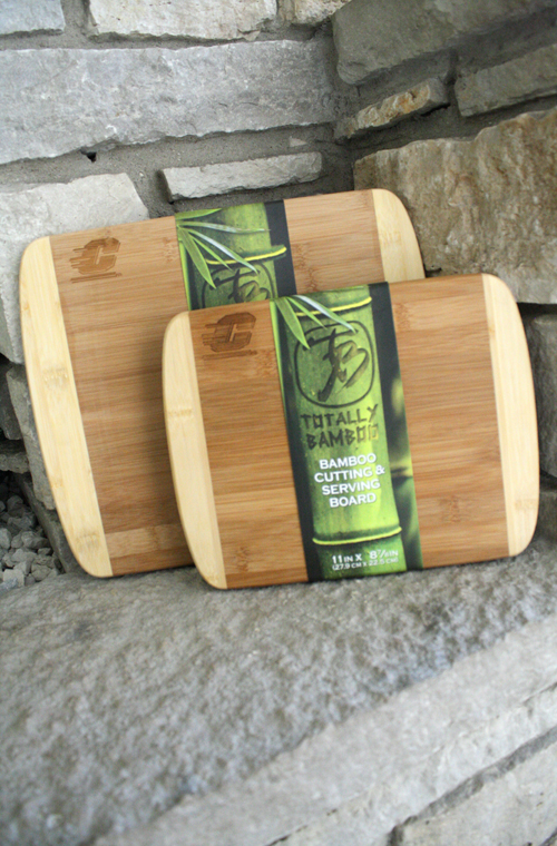 11 X 8 7/8 Inch Or 13 1/2 X 11 1/2 Inch Bamboo Flying C Cutting Boards (SKU 5016532230)