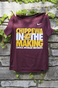 Chippewa In The Making Flying C Nike Youth Dri-Fit T-Shirt
