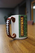 Football Chippewas Flying C 15 Oz Mug