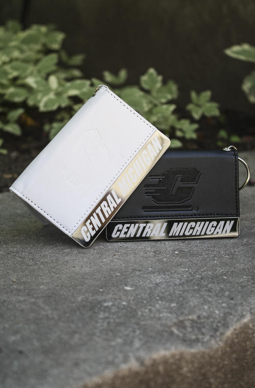 Black Or White Flying C Central Michigan Id Holder (SKU 5016624474)
