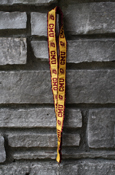 Cmu Flying C Glitter Maroon And Gold Lanyard