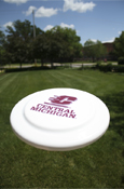 "Flying C Central Michigan White 9"" Frisbee"