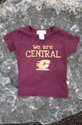 We Are Central Flying C Maroon Youth T-Shirt