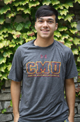 Under Armour Heatgear C M U Central Michigan University Open Letters T-Shirt