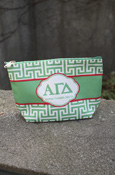 Alpha Gamma Delta - Large Pouch