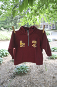 Central Michigan Flying C 1892 Maroon 1/4 Zip