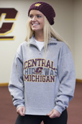 Central Michigan Flying C Over Chippewas 1/4 Zip