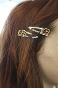Flying C Barrettes Set Of Two