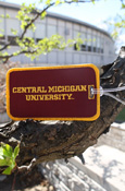 Central Michigan University Embroidered Luggage Tag