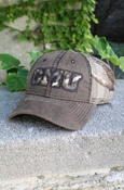 Camo C M U Hat With Mesh Back