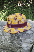 Bucket Hat - Reversible Repeat Flying C Chippewas With Flying C On Reverse