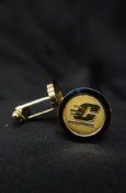 Gold Cuff Links With Flying C