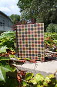 100% Recycled Paper Color Dot Notebook - 6.5X8""