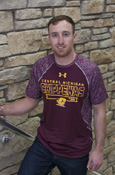 Apex Pattern Central Michigan Chippewas Flying C Under Armour T-Shirt