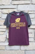 Flying C Chippewas Youth Under Armour T-Shirt