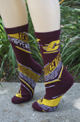 Men's Flying C Central Michigan Chippewas Adidas Socks