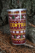Central Michigan Holiday Sweater 16Oz Tumbler