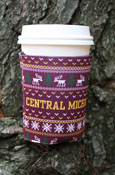 Central Michigan Holiday Sweater Koozie