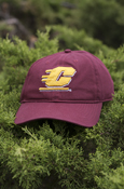 Flying C 3D Maroon Adjustable Hat