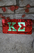 Kappa Sigma - Mirrored License Plate