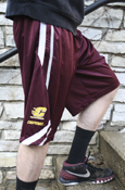 Flying C Chippewas Maroon Nike Shorts