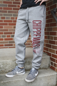 Chippewas Cmu 92 Graphite Jogger Pants With Pocket On Back
