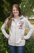 Central Michigan Flying C Script Chippewas Ladies Under Armour Full Zip