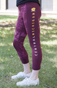 Central Michigan Flying C Under Armour Fusion Crop Pants